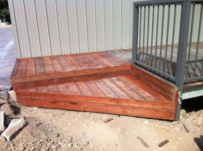 sunbury gisborne builder merbau steps stairs