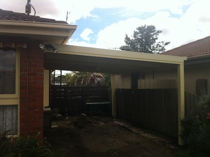 Carports and pergolas cheap solution for the owner from macedon area, quality result