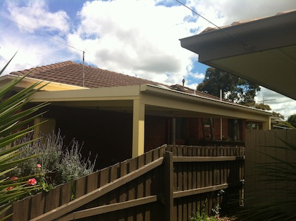 cheap carport in the hume area with great coloured classic cream. intrepid